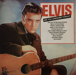 Elvis Presley ‎- Are You Lonesome Tonight (LP) (EX-/EX-)